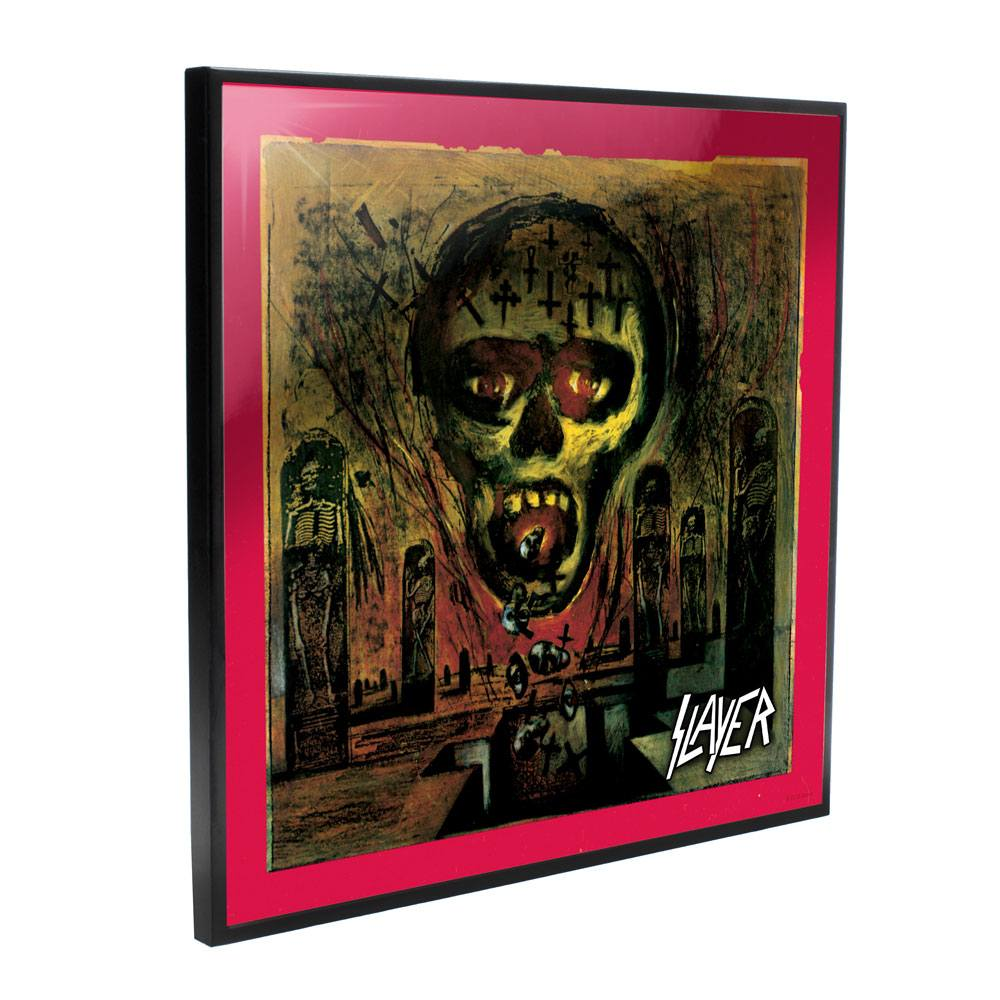 Slayer Crystal Clear Picture Seasons in the Abyss 32 x 32 cm