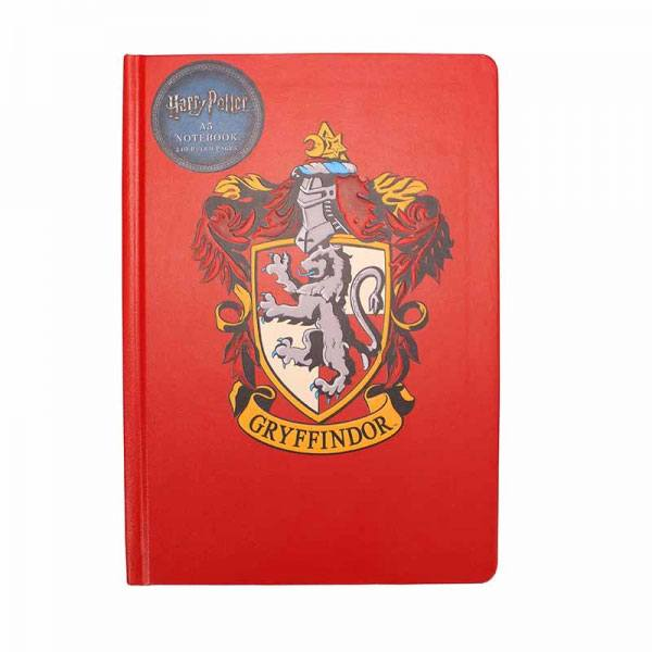 Harry Potter A5 Notebook Gryffindor