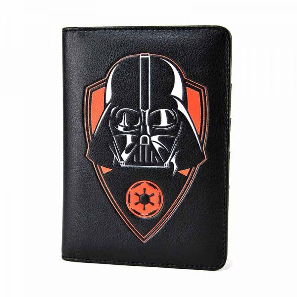 Star Wars Travel Pass Holder Darth Vader Badge Icon