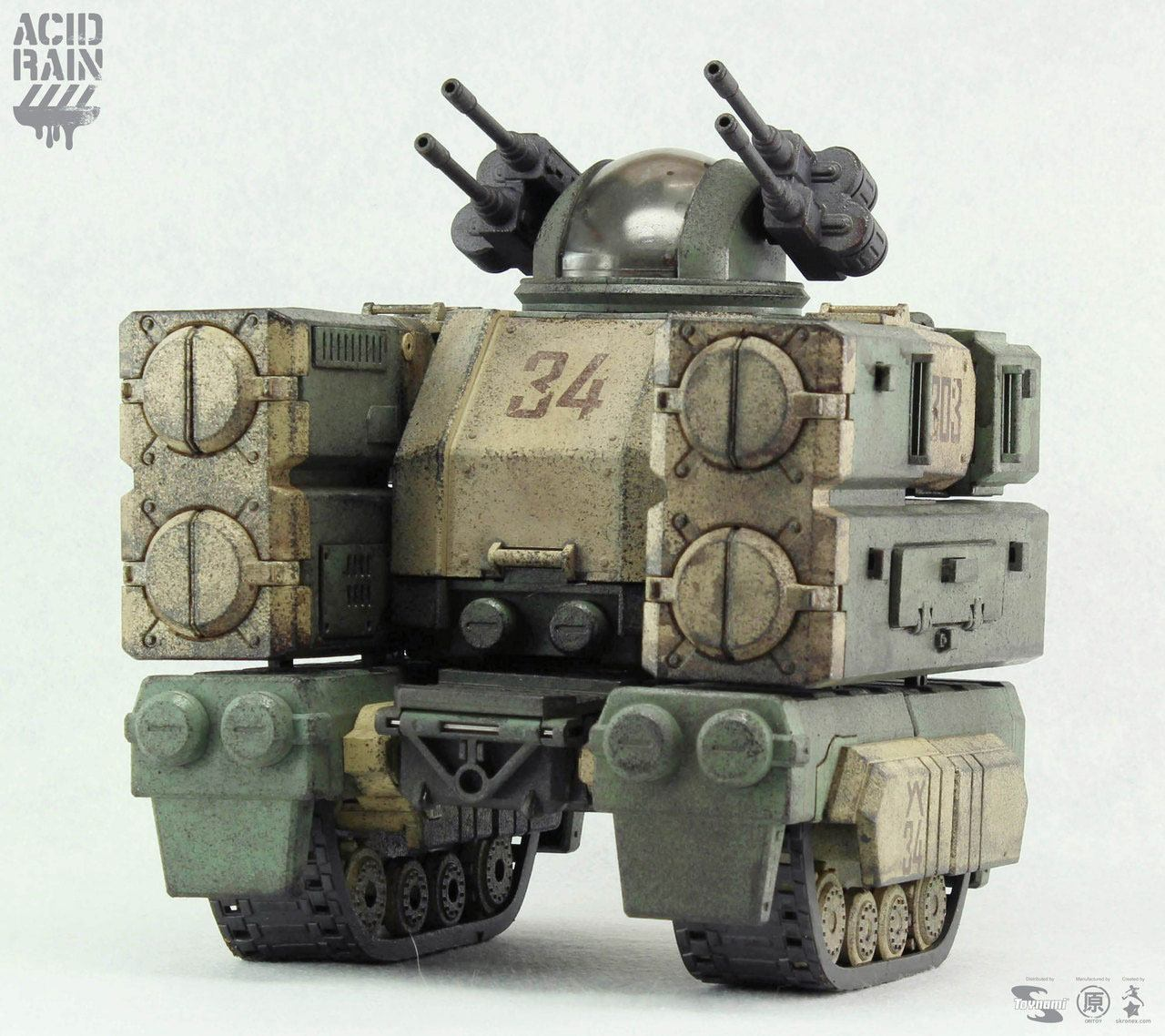 Acid Rain Transforming Mecha Action Vehicle 1/18 Stronghold (Marine) 26 cm