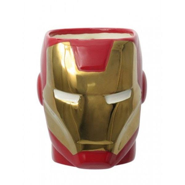 Marvel Comics Super Hero 3D Mug Iron Man