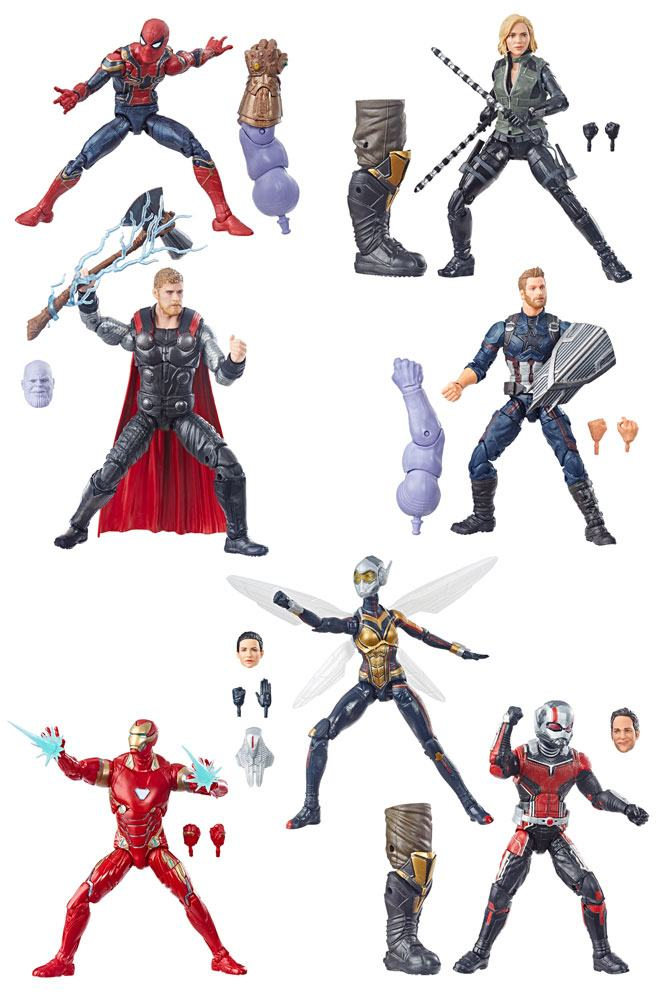 Marvel Legends Series Action Figures 15 cm 2019 Best Of Assortment (8)