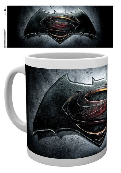 Batman v Superman Dawn of Justice Mug Logo