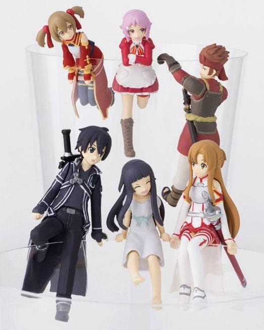 Sword Art Online Putitto Series Trading Figure 6 cm Assortment (8)