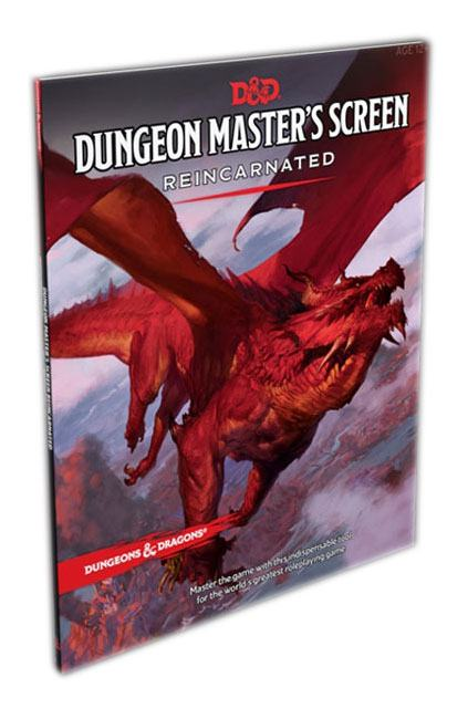 Dungeons & Dragons RPG Dungeon Master's Screen Reincarnated english
