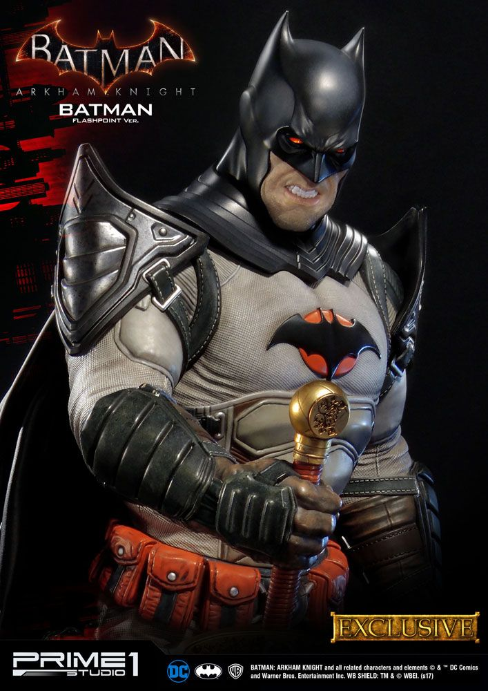 Batman Arkham Knight Statues Batman Flashpoint & Batman Flashpoint Exclusive 83 cm Assortment (3)