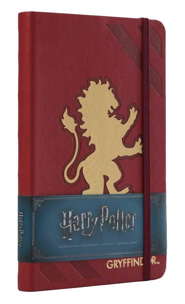 Harry Potter Hardcover Ruled Journal Gryffindor New Design