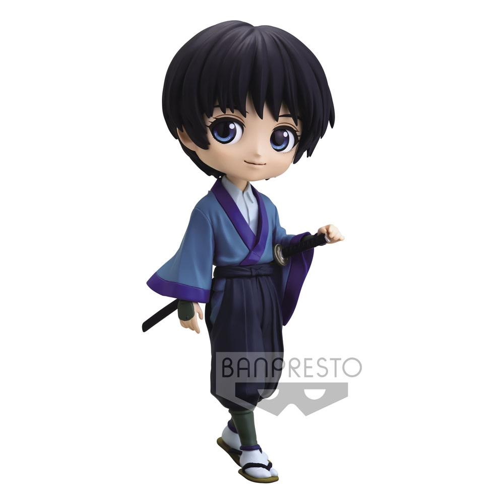 Rurouni Kenshin Q Posket Mini Figure Sojiro Seta Ver. B 14 cm