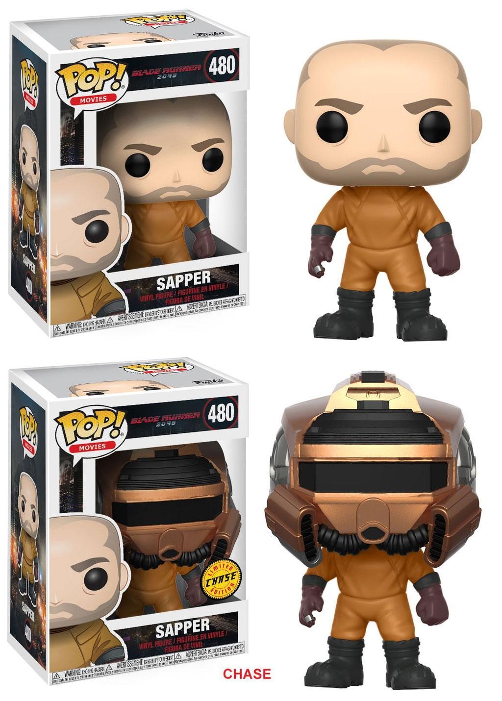 Blade Runner 2049 POP! Movies Figures Sapper 9 cm Assortment (6)