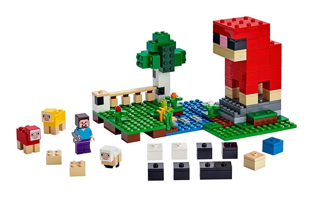 LEGO® Minecraft™ - The Wool Farm