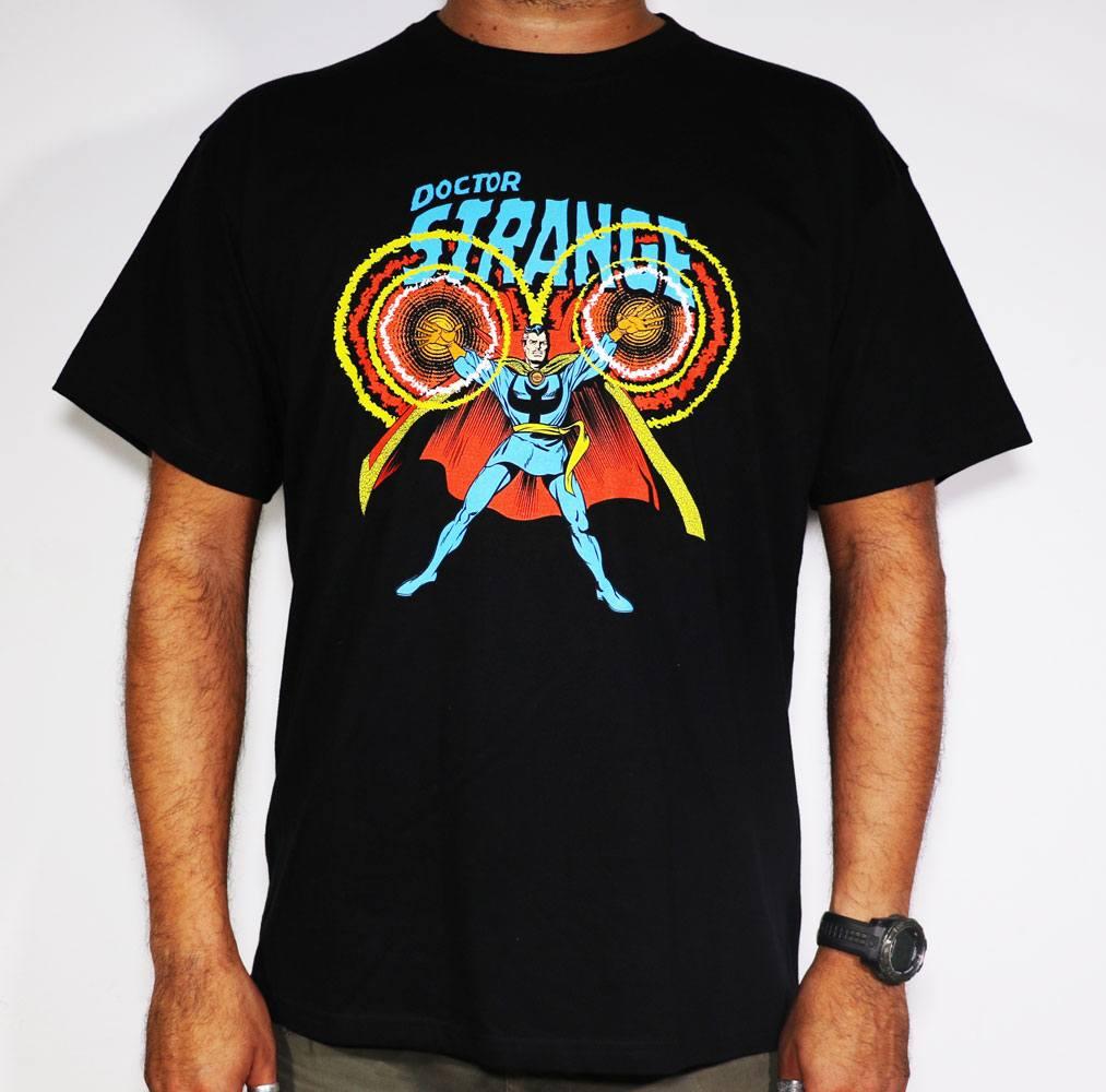 Doctor Strange T-Shirt Lightning Size XL