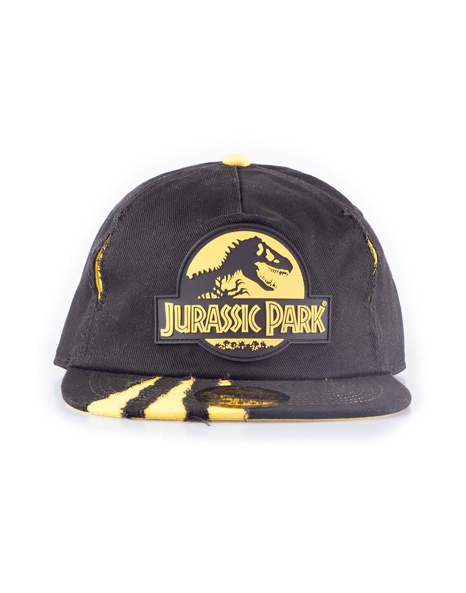 Jurassic Park Snapback Cap Ripped