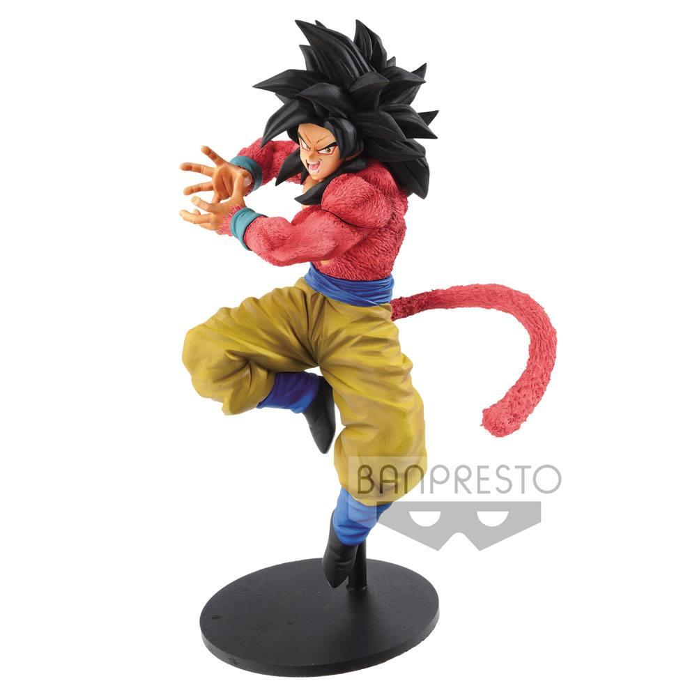 Dragonball GT Figure Super Saiyan 4 Goku x10 Kamehameha Ver. 19 cm