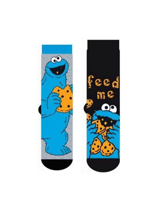 Sesame Street Mens Socks 2-Pack Cookie Monster V2