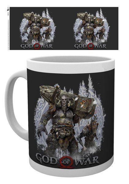 God of War Mug Troll & Draugr