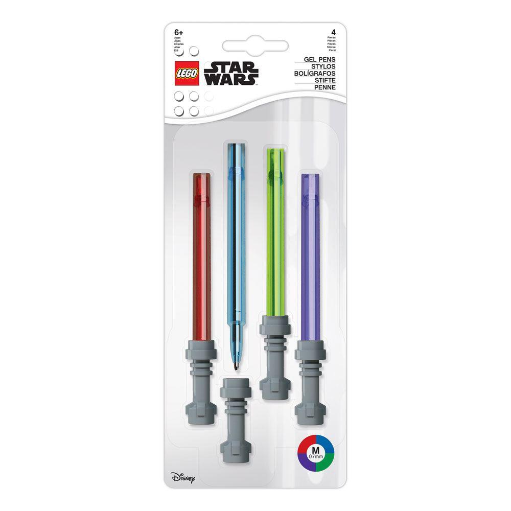 Joy Toy Star Wars Gel Pens 4-Pack Lightsaber