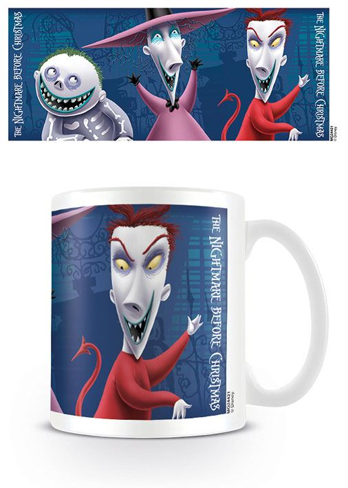 Nightmare Before Christmas Mug Lock Shock Barrel