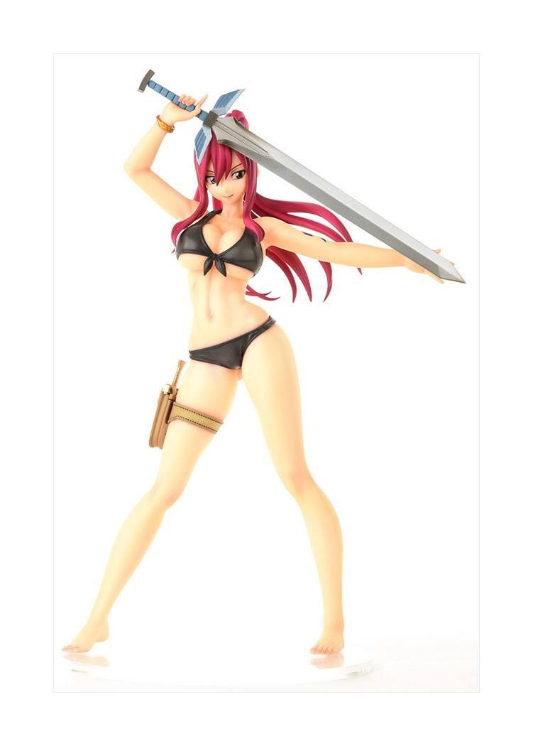 Fairy Tail PVC Statue 1/6 Erza Scarlet: Swimwear Gravure Style 28 cm