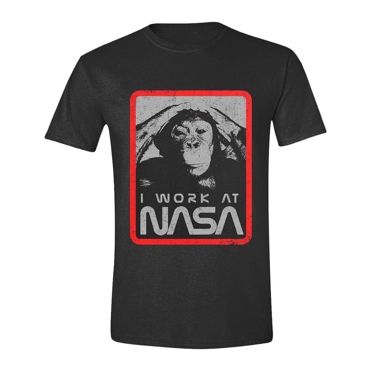NASA T-Shirt I work at NASA Size XL