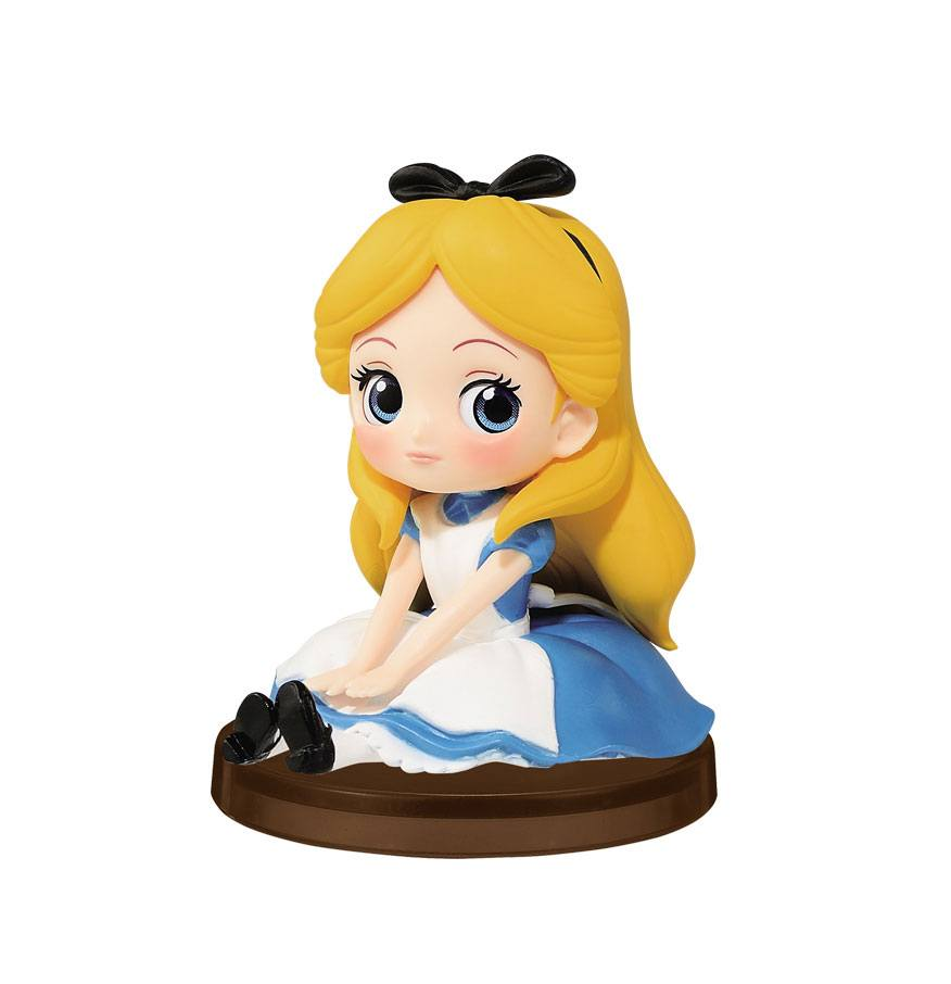 Disney Q Posket Petit Girls Festival Mini Figure Alice 7 cm