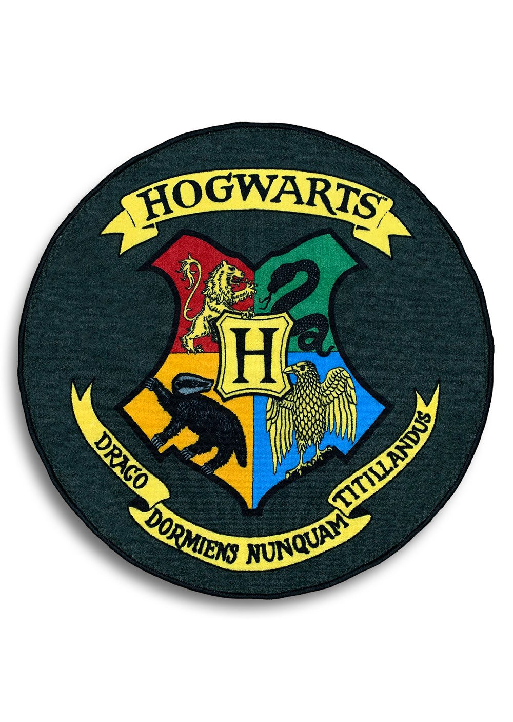 Harry Potter Carpet Hogwarts Shield 100 x 100 cm