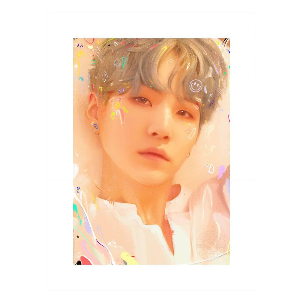 BTS Fine Art Print Love Yourself: SUGA 46 x 61 cm - unframed