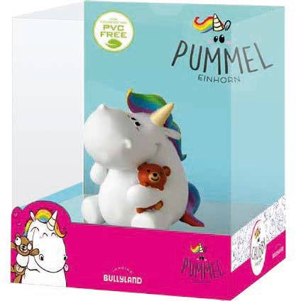 Chubby Unicorn Figure Chubby with Teddy Single Pack 6 cm