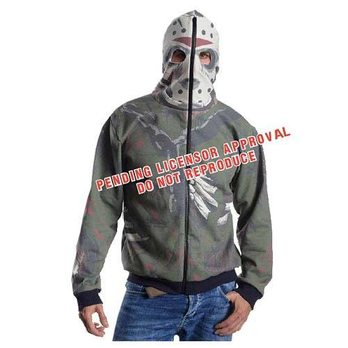 Friday the 13th Hooded Sweater Jason Voorhees Size XL