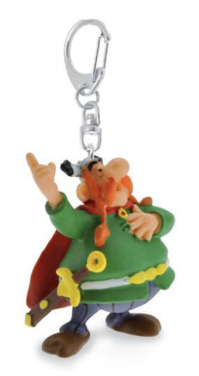 Asterix Keychain Vitalstatistix the chief 10 cm