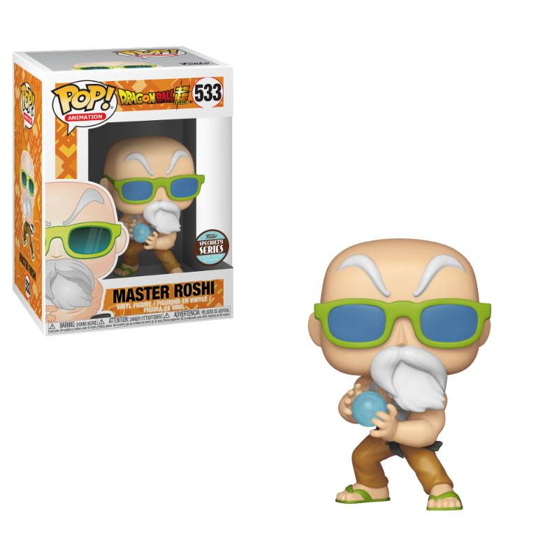 Dragonball Super POP! Animation Vinyl Figure Speciality Series Master Roshi (Max Power) 9 cm