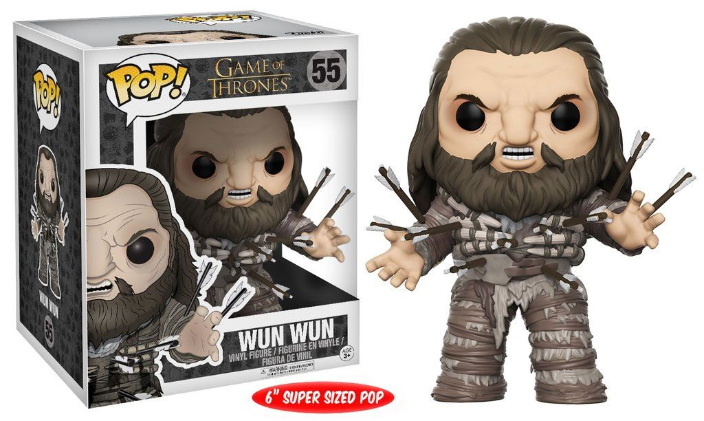 Game of Thrones Super Sized POP! Television Vinyl Figure Wun Wun 15 cm --- DAMAGED PACKAGING
