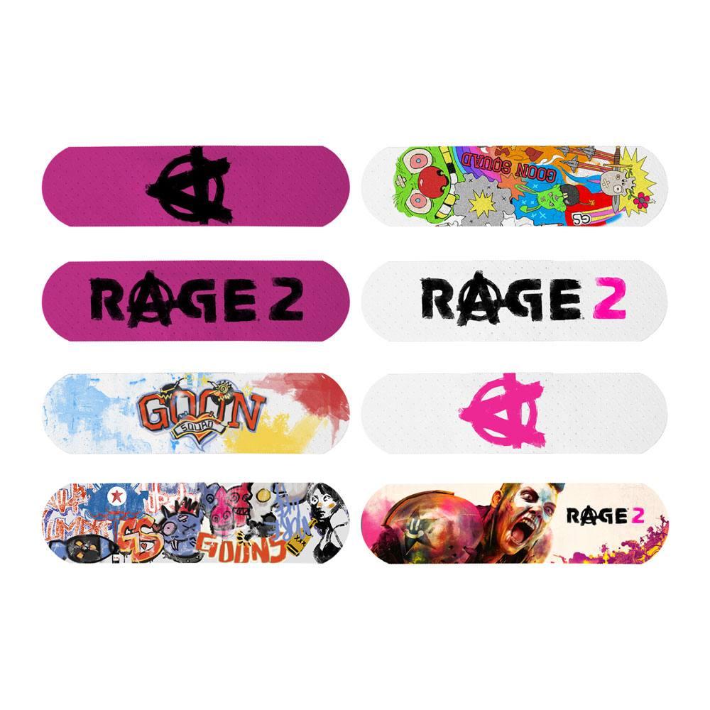 Rage 2 Plasters 8-Pack Bandages