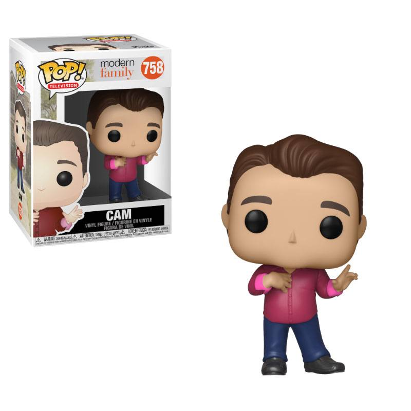 Modern Family POP! TV Vinyl Figure Cam 9 cm