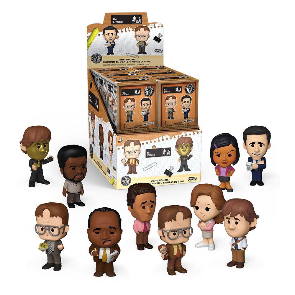 The Office US Mystery Minis Vinyl Mini Figures 6 cm Display (12)