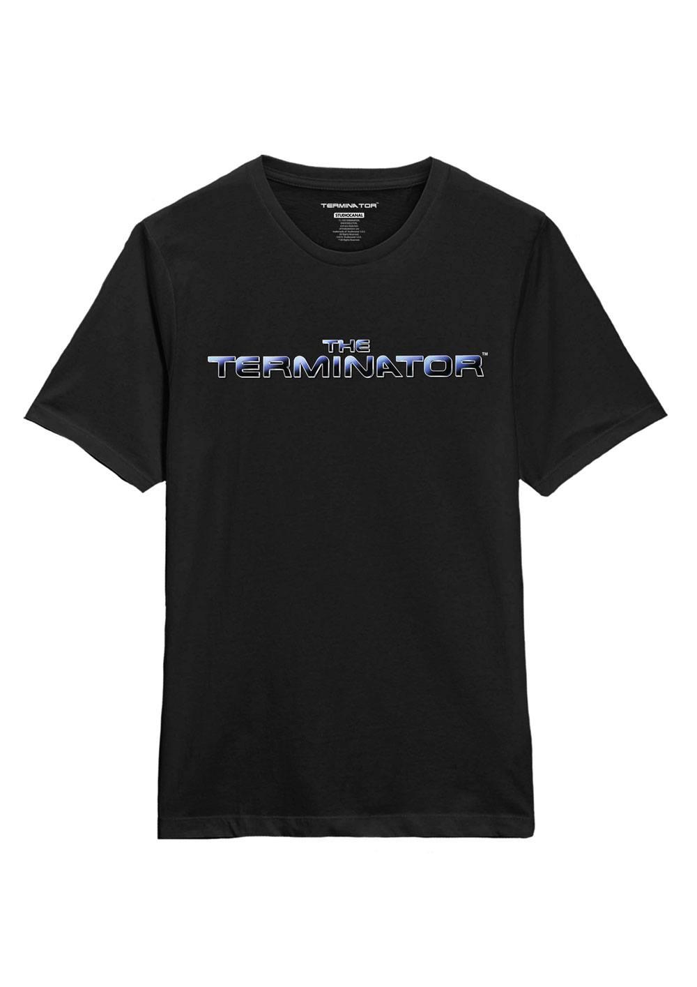 Terminator T-Shirt Logo Size L