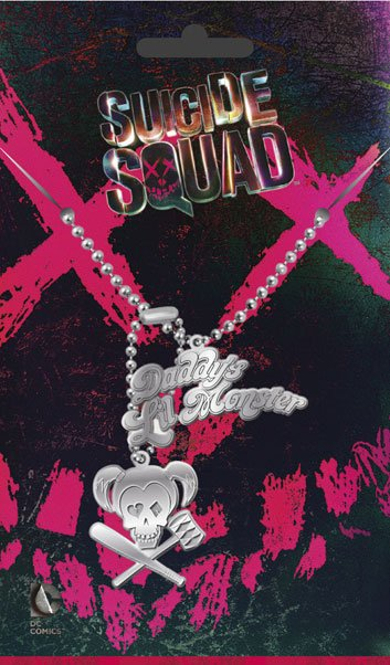 Suicide Squad Dog Tags with ball chain Harley Quinn