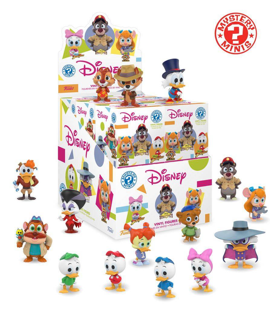 Disney Afternoon Mystery Minis Vinyl Mini Figures 6 cm Display Classic (12)
