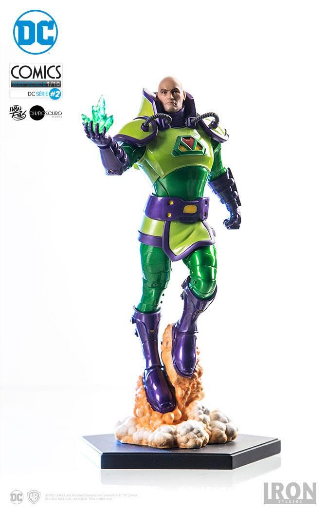 DC Comics Statue 1/10 Lex Luthor 24 cm --- DAMAGED PACKAGING