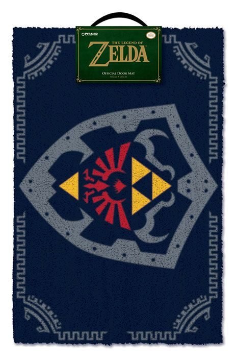 Legend of Zelda Doormat Hylian Shield 40 x 60 cm