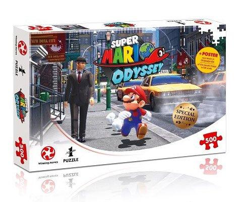 Super Mario Odyssey Jigsaw Puzzle New Donk City
