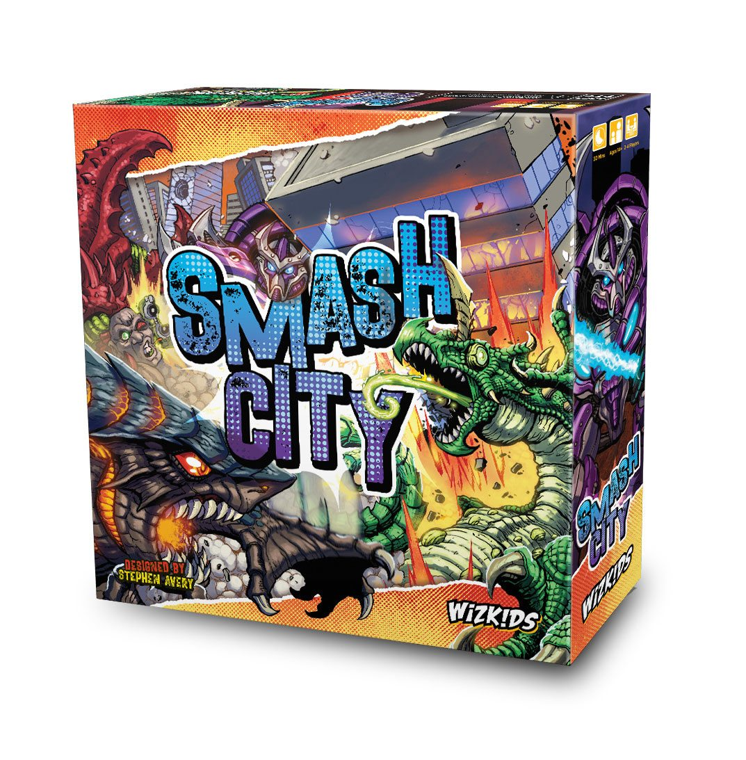 WizKids Board Game Smash City *English Version*