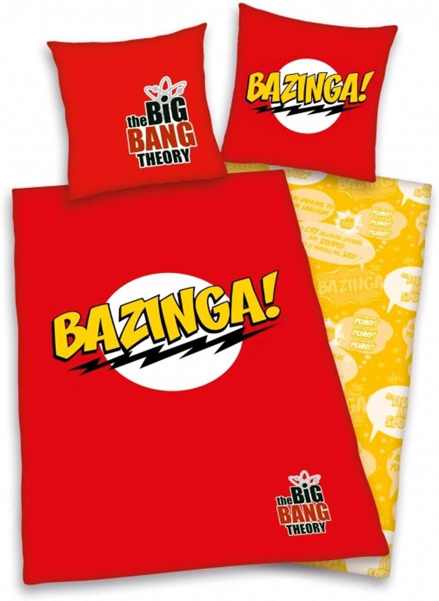 The Big Bang Theory Duvet Set 135 x 200 cm / 80 x 80 cm