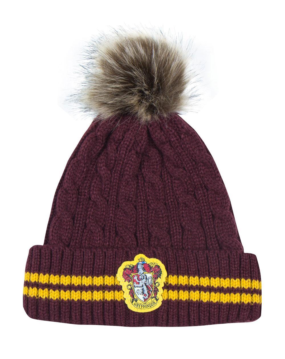 Harry Potter Pom-Pom Beanie Gryffindor