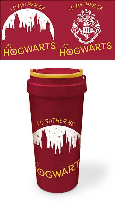 Harry Potter Eco Travel Mug Rather be at Hogwarts