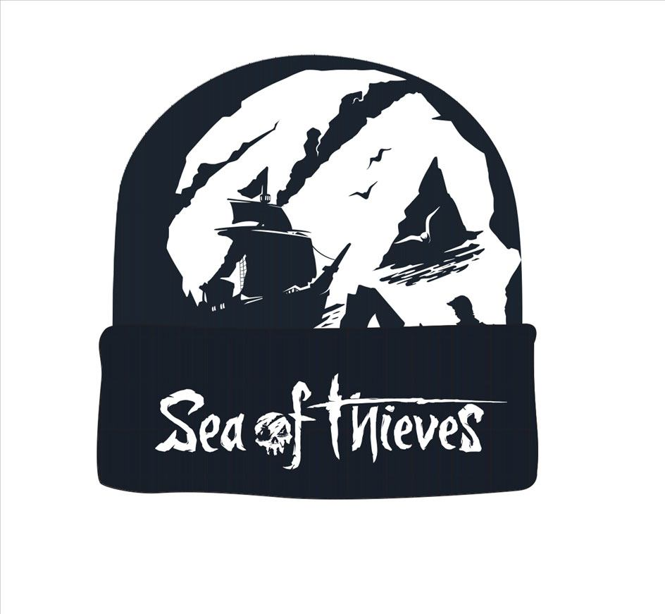 Sea of Thieves Beanie Skull Logo