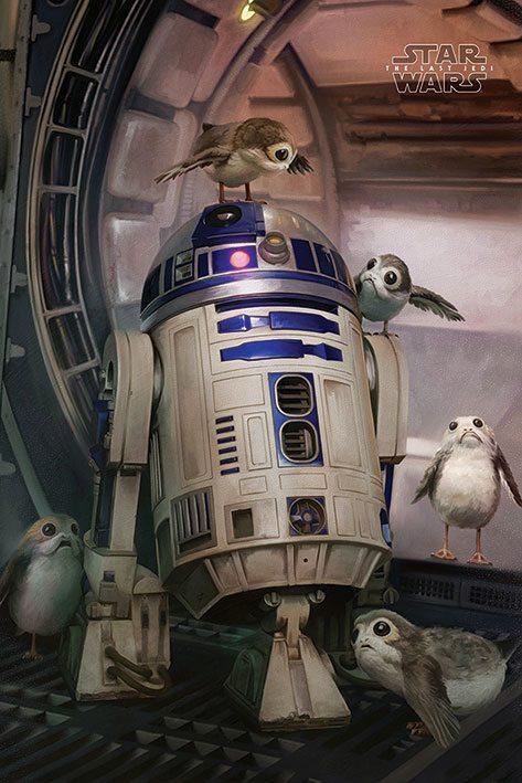 Star Wars Episode VIII Poster Pack R2-D2 & Porgs 61 x 91 cm (5)