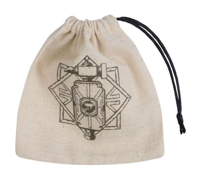 Dwarven Dice Bag Basic beige & black