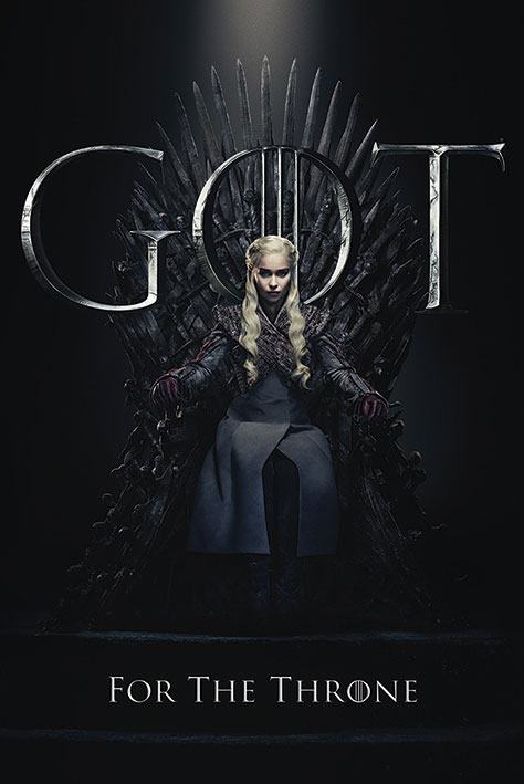 Game of Thrones Poster Pack Daenerys for the Throne 61 x 91 cm (5)