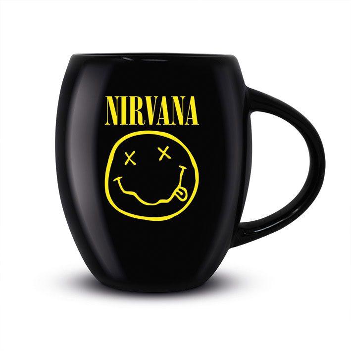Nirvana Oval Mug Smiley