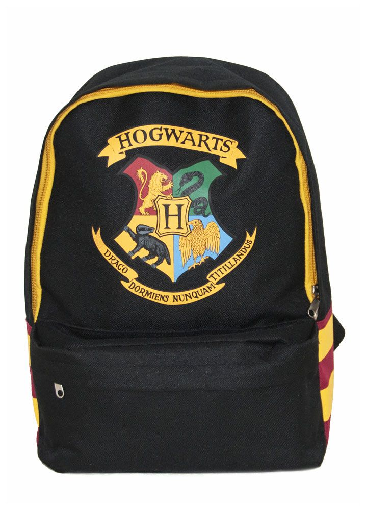 Harry Potter Backpack Hogwarts Striped Shoulder